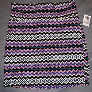 Multi color body on skirt